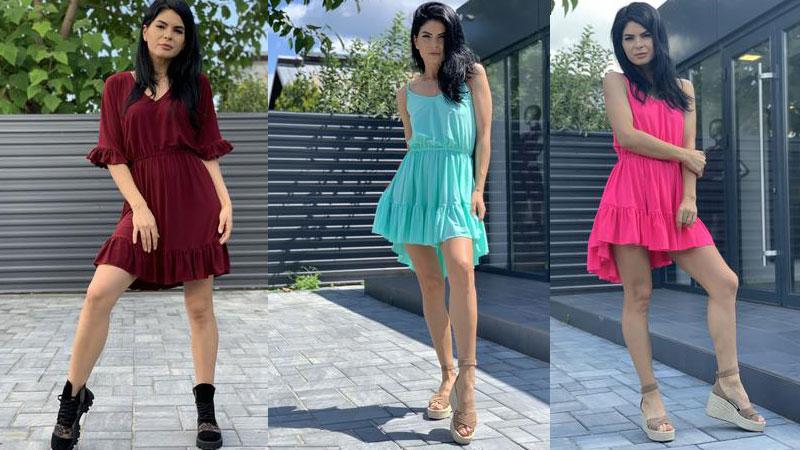 Vei atrage toate privirile oriunde mergi cu noua colectie de rochii de vara de la Ramona Badescu!